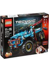 Lego Technic Camião Grua Todoterreno 6x6 42070