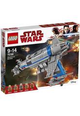 Lego Star Wars Bombardiere della Resistenza 75188