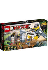 Lego Ninjago Bombardero Mantarraya 70609