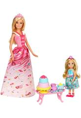 Barbie Dreamtopia Chelsea Princess Tea Party Mattel FDJ19