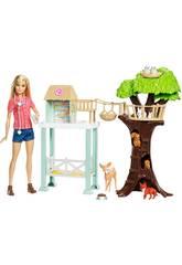 Barbie Centro Soccorso Animali Mattel FCP78