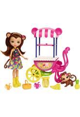 Enchantimals Panier de Fruits Mattel FCG93