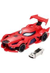 Hot Wheels Coche Lanzador De Spiderman Mattel FGL45