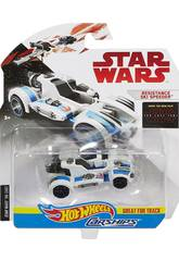 Star Wars E8 Coche Espacial Hot Wheels