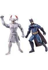 Pack 2 Figuras Liga De La Justicia Mattel FGG85