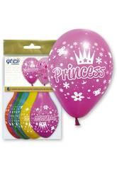 Ballons Gonflables Ballon Gold Princess Globolandia