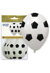 Luftballons aufblasbares Gold Futbol GWolflandia