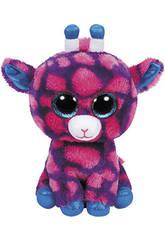 Peluche Girafe Rose 15 cm TY