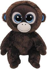 Macaco de pelúcia marrom 15 Cm Ty