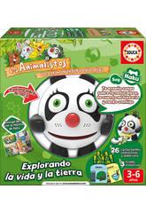 Educativo Electronico Animalisto Haku El Oso Panda - Ciencia Educa 17247