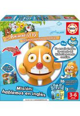 Educativo Elettronico Animalisto Haku Bali La Gatita Inglese Educa 17248