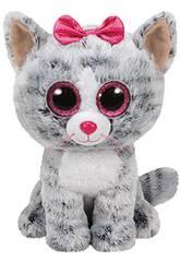 Plüschtier Kiki Katze grau 15 Cm