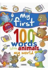 My First 100 Words Animals ... Susaeta S0266