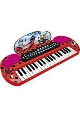 Lady Bug Claudio Tastiera con Collegamento e Uscita Audio MP3 Reig 2679