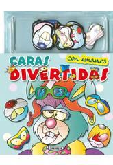 Visages Amusants avec Images ... (2 livres) Susaeta Editions