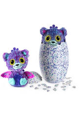 Hatchimals Überraschungs-Zwillinge Peacat Lila Bizak 6192 1923