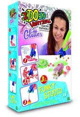 IDO3D Vertical Funky Studio Inchiostri Glitterati Giochi Preziosi D3D09000