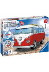 Puzzle 3D Building Fourgonnette Volkswagen Ravensburger 12516