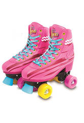 Soy Luna Light Up Patins à Roulettes (Taille 32/33)