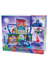 Playset PJ Mask Base Secreta Bandai 24560