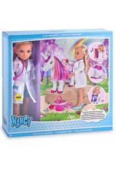 Nancy Un Día de Veterinaria de Unicornios Con Accesorios 41cm Famosa 700013863