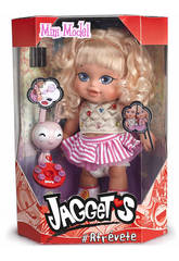 Muñeca Jaggets Mini Model Trenzador Famosa 700013783