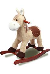 Peluche Cavallo a Dondolo Beige con suoni