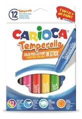 Tempera solida Temperello 12 pz Carioca 42738