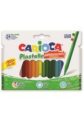 Crayons de Cire 24 unités Carioca 42880