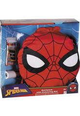Spiderman Conjunto Escolar Activity Backpack Sambro SPE - 8458