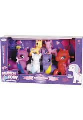 Famiglia di Pony Pack 6 pezzi