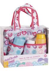 Bolso de Viaje Muñeco Bebé con Accesorios