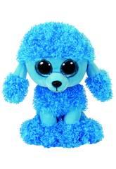 Plüschtier Mandy Poodle Blau 15 cm. Ty 36851