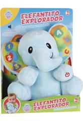 Elefante Aprendizaje Con Luces, Movimiento y Sonidos 23x23x16cm