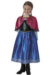 Déguisement Fille La Reine des Neiges Anna Deluxe Taille M Rubies 630573-M