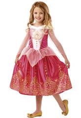 Costume Bimba La Bella Addormentata nel Bosco Classic M Rubies 640714-M