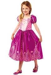 Disfraz Niña Rapunzel Classic Deluxe T-M Rubies 640722-M