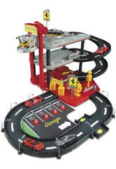 Parking Ferrari avec 2 Voitures 1:43 Bburago 31204