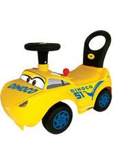 Porteur Cruz Cars Avec Activités, Lumières, Sons et Dossier 34 x 56 x 27 cm 1-3 ans