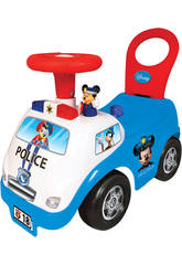 Correpasillos Mickey Policía Actividades Luces y Sonidos 35x51x25cm