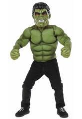 Déguisement Garçon Hulk de Luxe