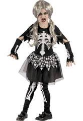 Disfraz Niños L Esqueleta