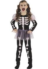 Disfraz Niños M Esqueleta