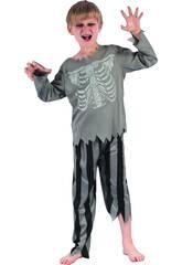 Disfraz Niños L Pirata Esqueleto