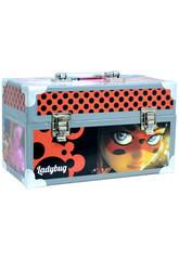 Valigetta Manualità Ladybug con Accessori 15.5x26x14 cm Cife 41173