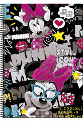 Minnie Cahier A4 100 Pages Couverture Rigide Journal Perona 54199