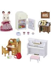 Sylvanian Families Kit Meubles Basiques Maison de Campagne Epoch Pour Imaginer 5220