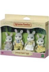 Sylvanian Families Familie Kaninchen Baumwolle Epoch Imagination 4030