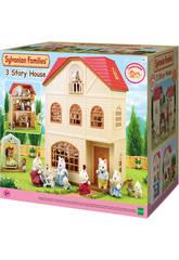 Sylvanian Families Casa de 3 Plantas Epoch Para Imaginar 2745