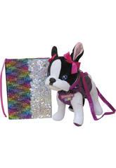 Assortiment Peluche Sac Doggie Star avec Journal à Paillettes Réversibles CYP BRANDS CK-03-DS